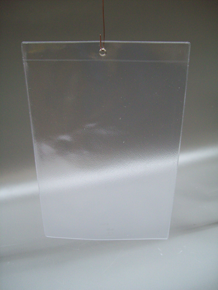 Подвесной карман из ПВХ  с отверстием HP-А4